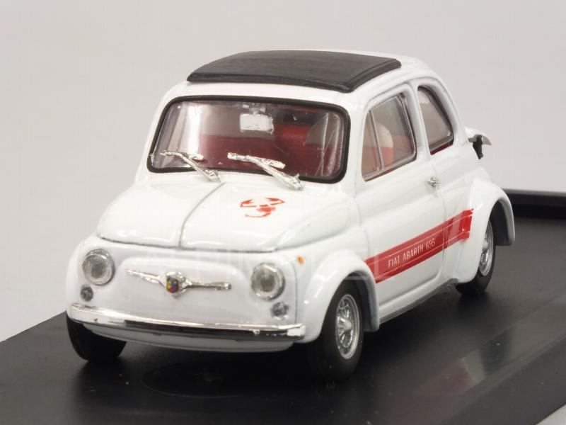Fiat Abarth 695SS Assetto Corsa 1968 (Bianco) by brumm