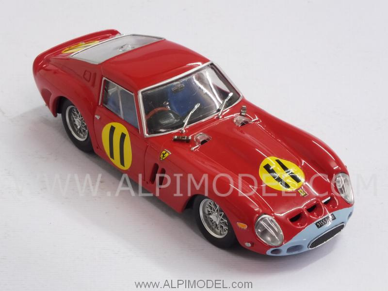 Ferrari 250 GTO 4399GT #11 Winner Tourist Trophy Goodwood 1963 Graham Hill - brumm