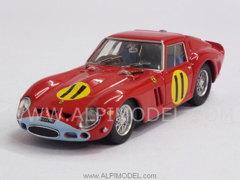 Ferrari 250 GTO 4399GT #11 Winner Tourist Trophy Goodwood 1963 Graham Hill by brumm