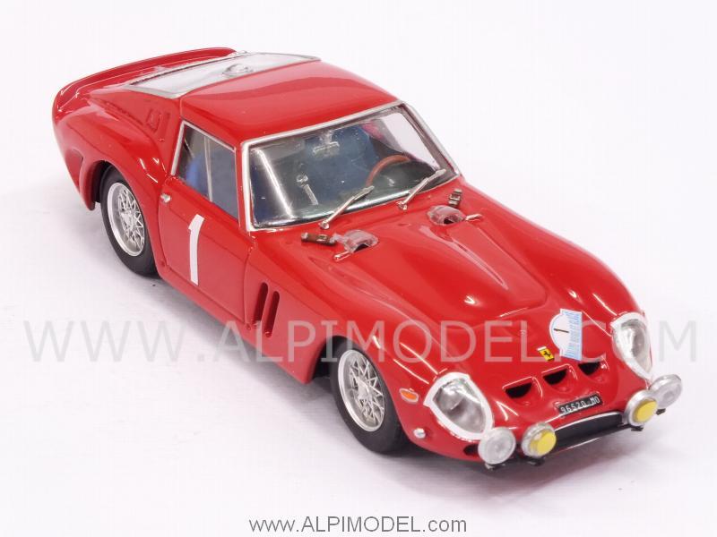 1//43 FERRARI 250 GTO R563 BRUMM RALLYE NEIGE ET GLACE 1964