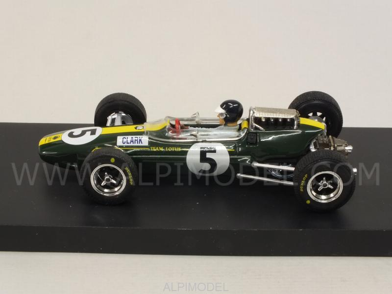 Lotus 33 #5 Winner British GP 1965 Jim Clark (with driver/con pilota) - brumm