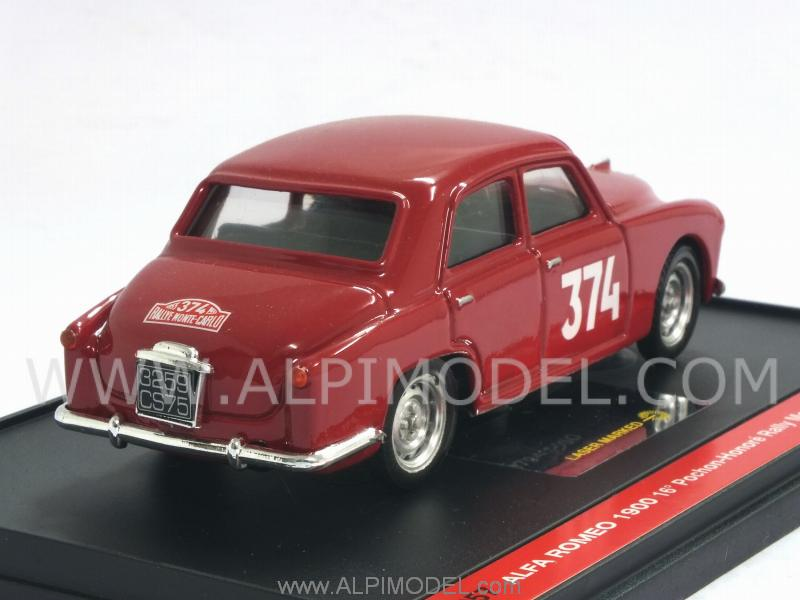 Alfa Romeo 1900 #374 Rally Monte Carlo 1955 Pochon-Honore'  (Special Limited Edition) - brumm
