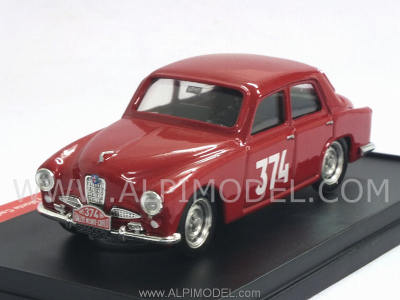 Alfa Romeo 1900 #374 Rally Monte Carlo 1955 Pochon-Honore'  (Special Limited Edition) by brumm