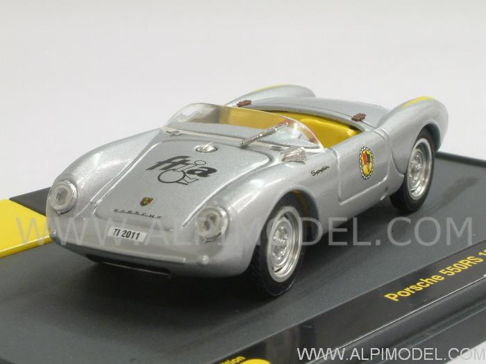 Porsche 550 RS (1956) 'Porsche Club Ticino'  Limited Edition FTIA Switzerland 2011 - brumm