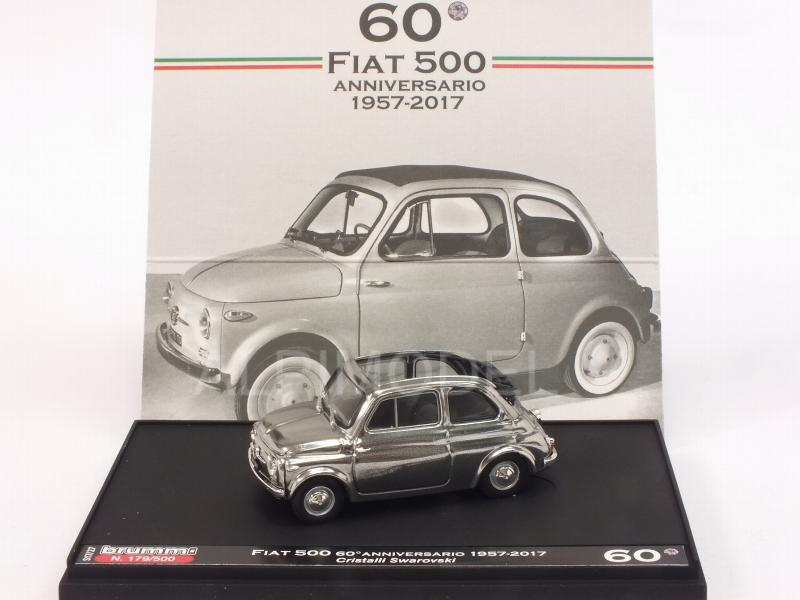 Fiat 500 60th Anniversary 1957-2017 SWAROVSKI Crystals Headlights - Special Limited Edition 500pcs. by brumm