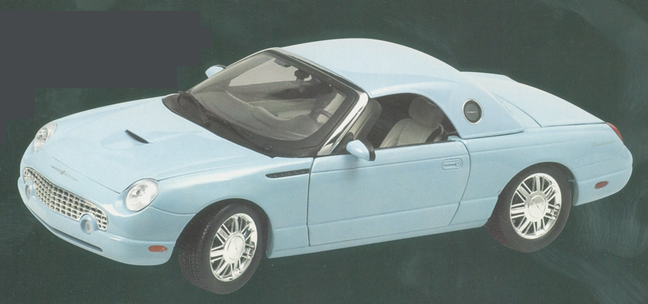Ford Thunderbird 2003 Convertible (Light Blue) by beanstalk-pma