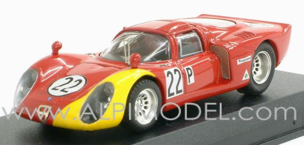 Alfa Romeo 33.2 Daytona 1968 Casoni - Biscardi by best-model