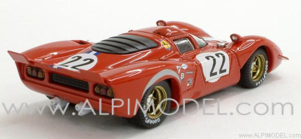 Ferrari 312 P Coupe Sebring 1970 Parkes - Parson - best-model