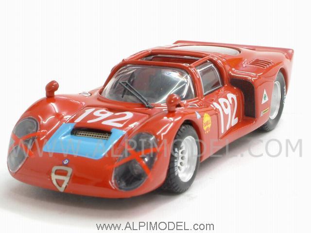 Best model Alfa Romeo 332 Spider 192 Targa Florio 1968