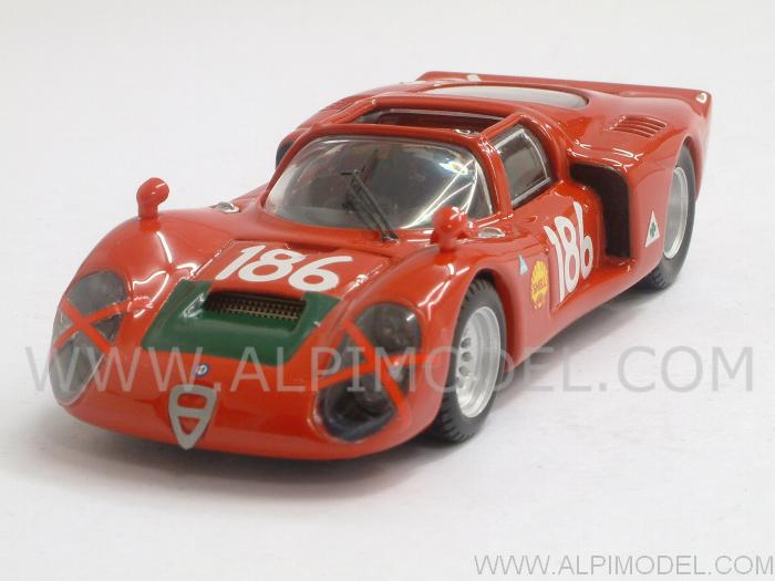 Alfa Romeo 33.2 Spyder #186 Targa Florio 1968 Giunti - Galli by best-model