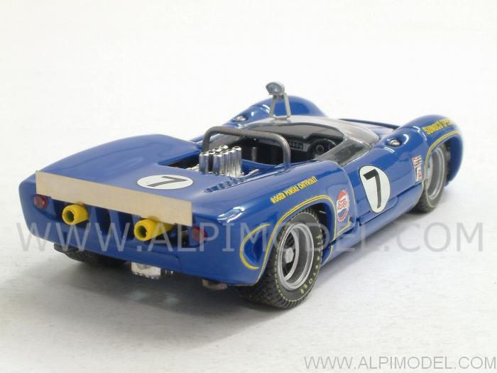 Donohue 1:43 Model Lola T70 Spider #7 Winner Nassau Trophy Race 1966 M