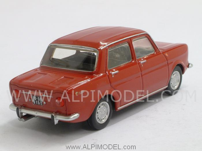 Simca Abarth 1150 1963 (Red) - best-model