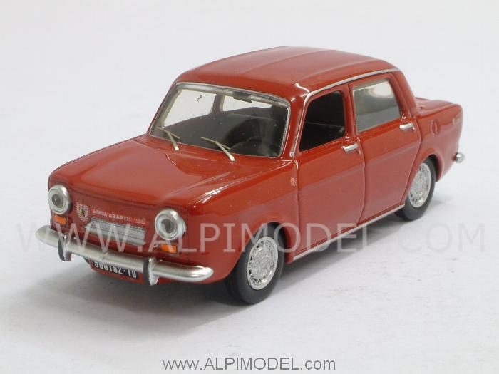 Simca Abarth 1150 1963 (Red) by best-model