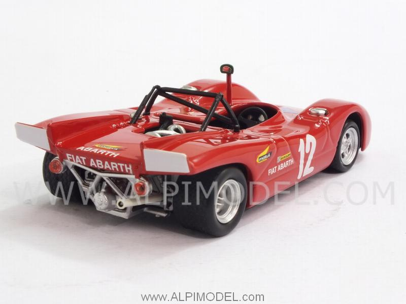 Abarth SP 2000 #12 Targa Florio 1971 Taramazzo - Ostini - best-model