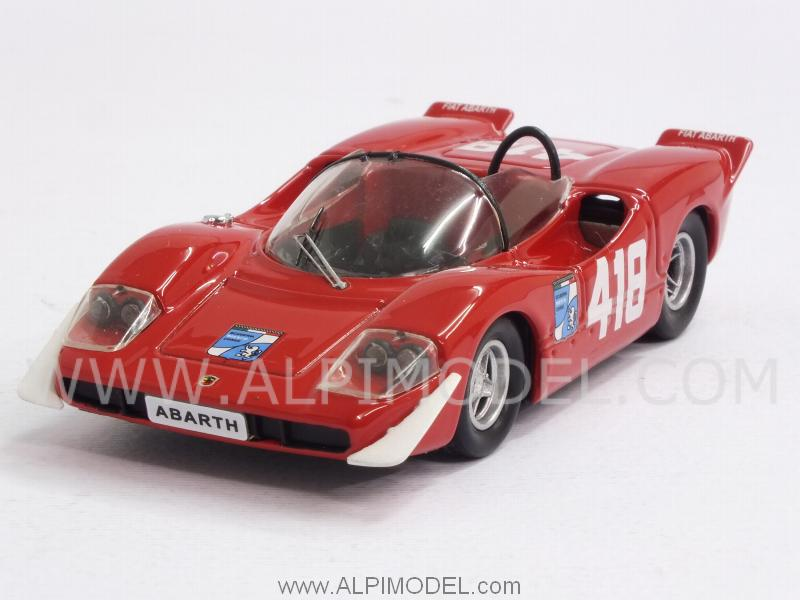 Abarth 2000 S #418 Trieste-Opicina 1969 F.Pilone by best-model