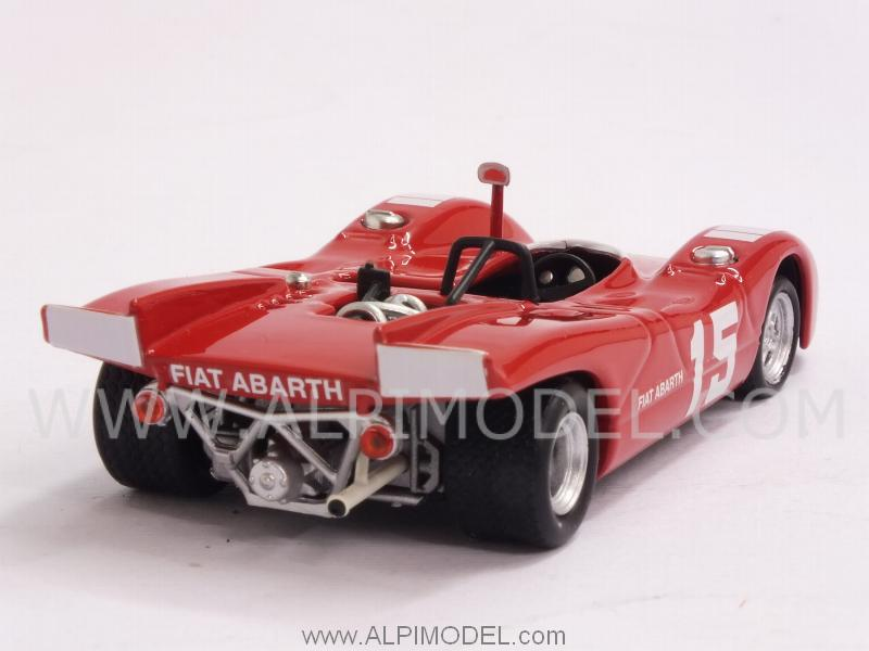 Abarth 2000 SP #15 Nurburgring 1970 K. Ahrens Jr. - best-model