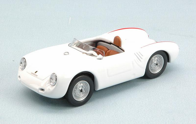 Porsche 550 RS 110 CV 1957 (White) by best-model