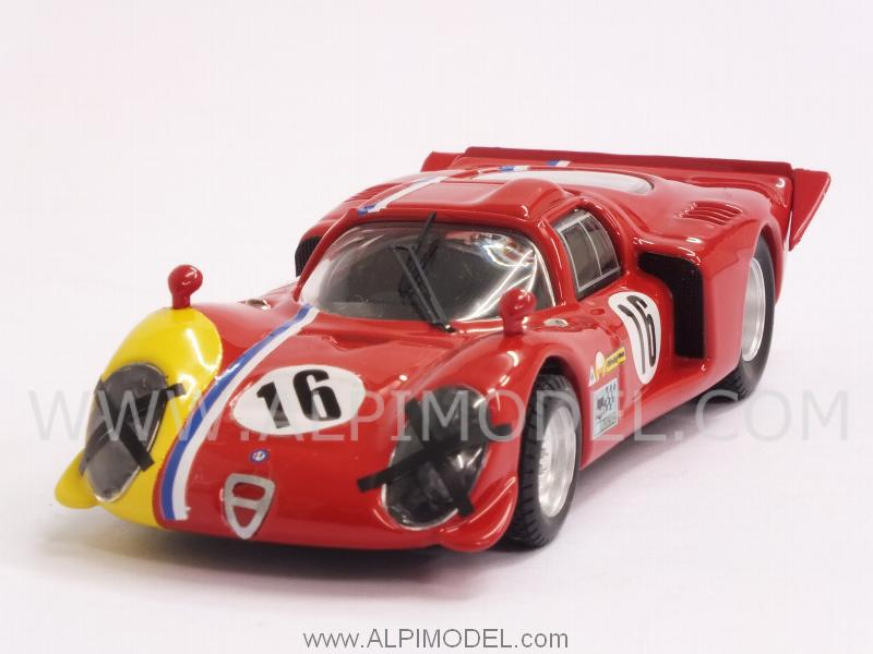 Alfa Romeo 33.2 Coupe #16 Spa 1968 Gosselin - Trosch by best-model