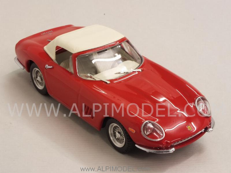 Ferrari 275 GTB Spider Nart 1967 closed (Red) - best-model