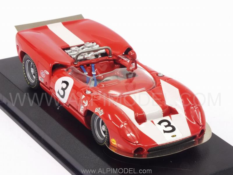 Lola T70 Mk2 #3 Winner Can-Am St.Jovite 1966 J.Surtees - best-model