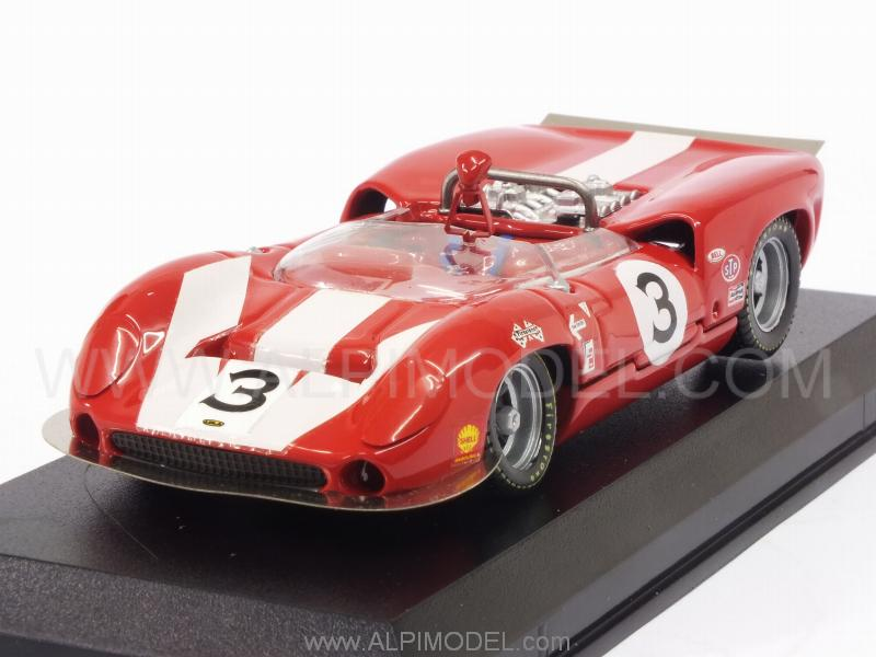Lola T70 Mk2 #3 Winner Can-Am St.Jovite 1966 J.Surtees by best-model