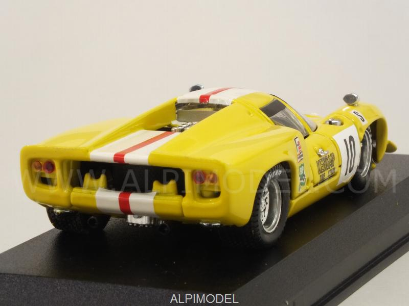 Lola T70 Coupe #10 12h Sebring 1968 Bonnier - Axelssonn - best-model