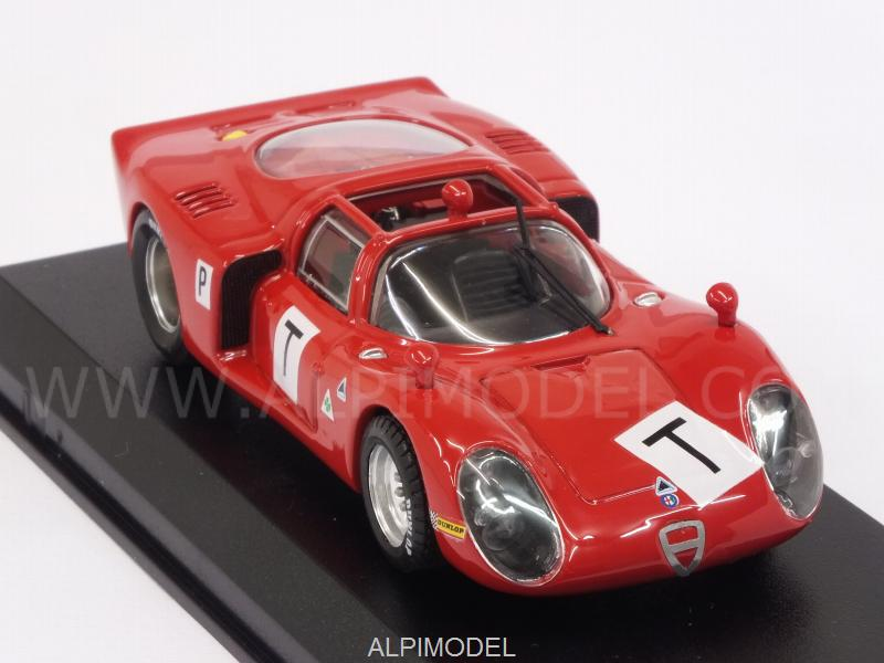 Alfa Romeo 33.2 T Le Mans Test 1968 Bianchi - Zeccoli - Grosselin - Trosch - best-model