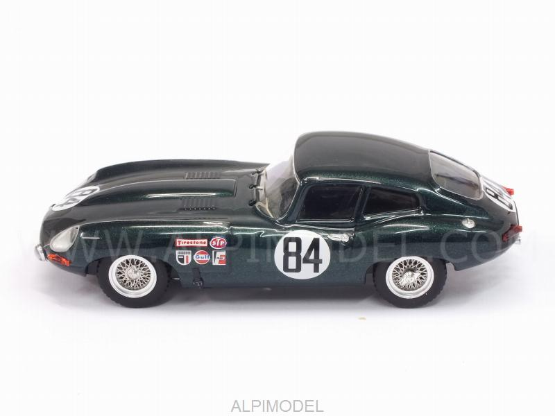 Jaguar E-Type Coupe #84 12h Sebring 1968 Rodgers - Robson - best-model