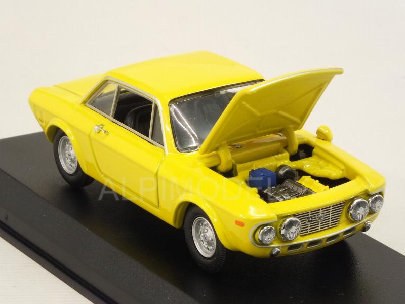 Lancia Fulvia Coupe 1600 Hf Stradale Fanalone 1968 (Yellow) - best-model