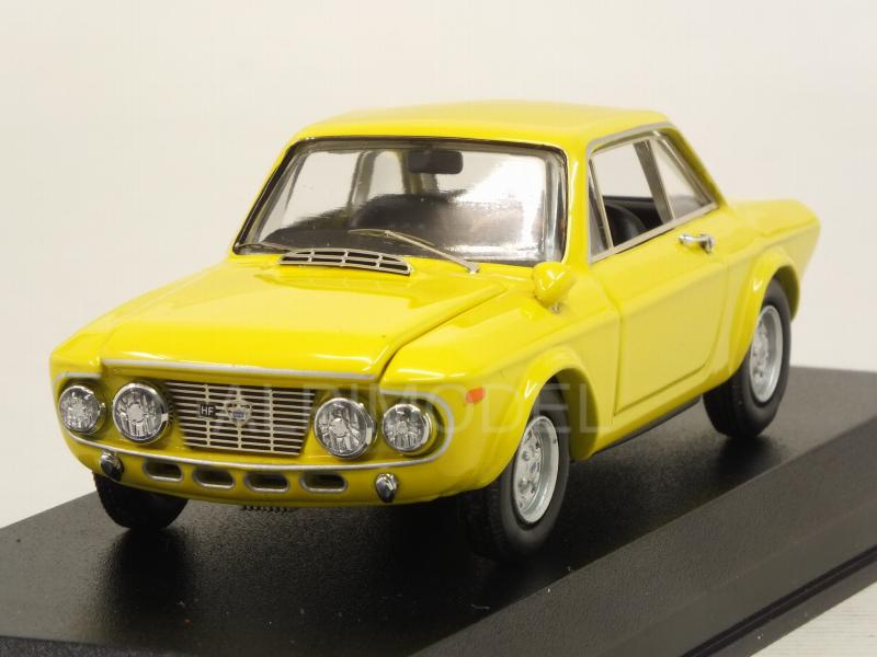 Lancia Fulvia Coupe 1600 Hf Stradale Fanalone 1968 (Yellow) by best-model