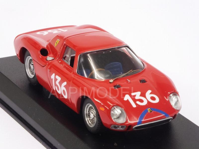 F Lessona 1:43 Model Ferrari 250 Lm #136 14th Targa Florio 1965 A Nicodemi