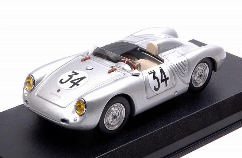 Porsche 550 RS Le Mans 1958 Dewes -.Kerguen 1:43 Best 9708