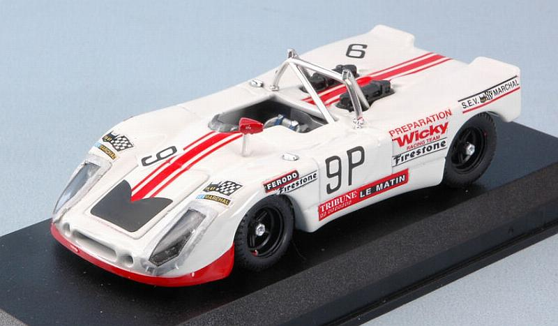 Porsche 908/02 #9 1000 Km Nurburgring 1971 Wicky - Cabral by best-model