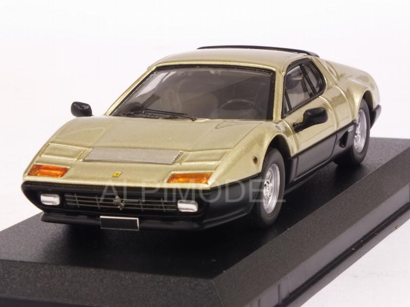 Ferrari 512 BB 1977 Sotheby Auction 2018 (Gold/Black) by best-model