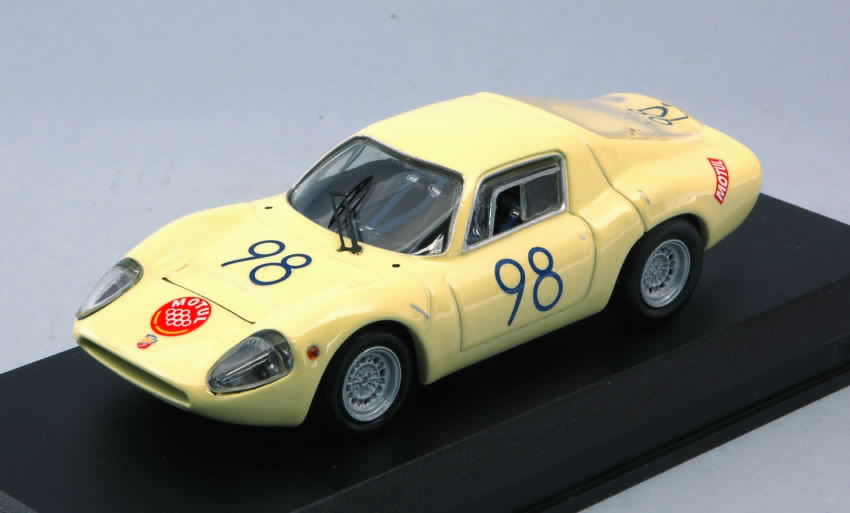Abarth 1300 OT #98 Winner S1.3 Class Targa Florio 1967 Garufi - Ferlito by best-model