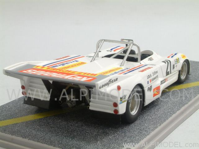 bizarre lola t286 ford 21 le mans 1976 lapeyre chevannes palvin 1 43 scale model. Black Bedroom Furniture Sets. Home Design Ideas