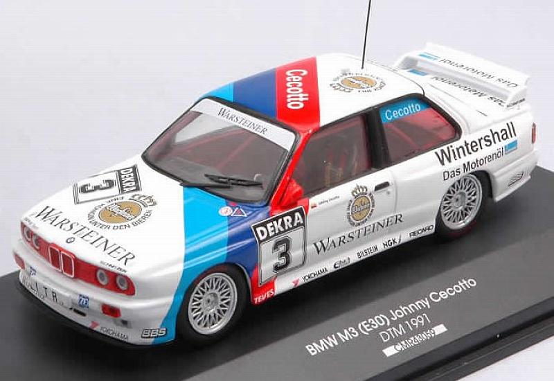 BMW M3 (E30) #3 DTM 1991 Johnny Cecotto by cmr