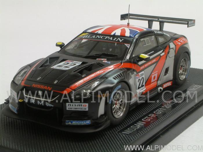 Nissan GT-R GT1 2011 Dumbreck-Westrock 1 43 Ebbro 44712