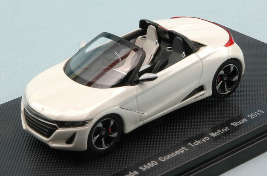 Ebbro 45231 Honda S660 Concept Tokyo Motor Show 2013 White 143