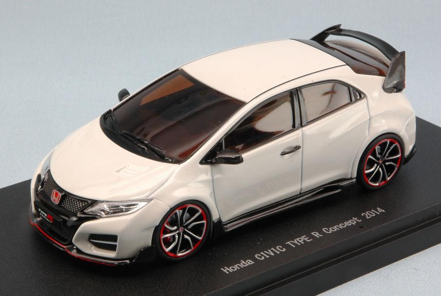 Ebbro 45245 Honda Civic Type R Concept 2014 White 143