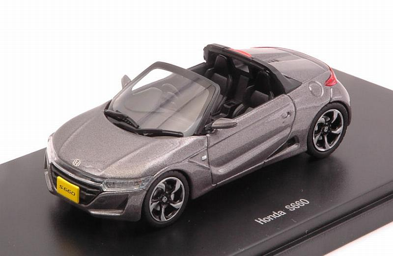 Honda S660 2015 (Grey) by ebbro