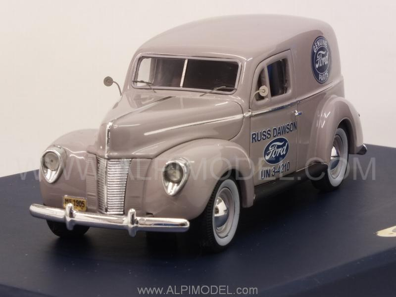 Ford Panel Van 'Genuine Ford Parts' 1935 by genuine-ford-parts