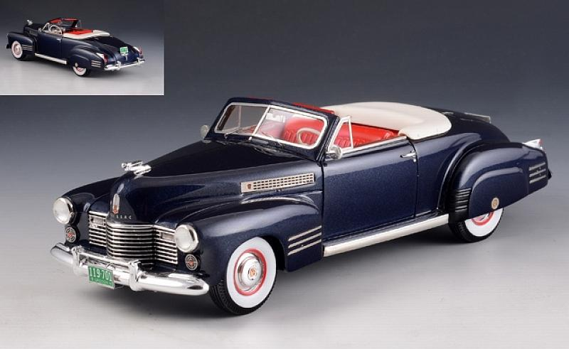 Cadillac Series 62 Convertible open 1941 (Metallic Blue) by glm-models