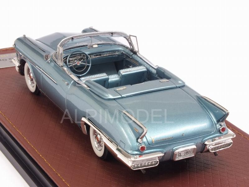 Cadillac Eldorado Biarritz open 1958 (Light Blue Metallic) - glm-models