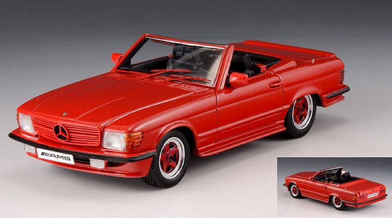 Mercedes Amg R107 Roadster 1980 Red 1:43 by glm-models