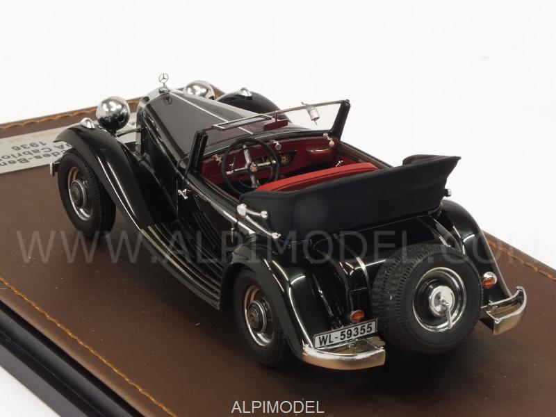 Mercedes 290A Cabriolet 1936 (Black) open - glm-models