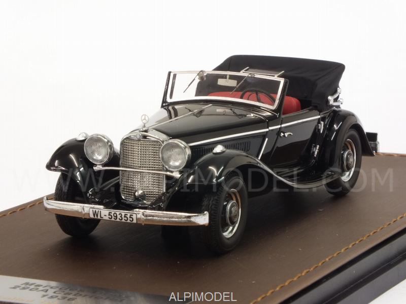 Mercedes 290A Cabriolet 1936 (Black) open by glm-models