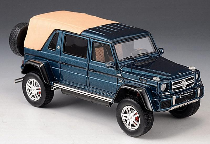 Mercedes-Maybach G650 Landaulet Closed 2017 (Blue Metallic) by glm-models