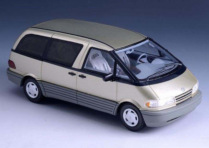 Toyota Previa 1994 (Gold) by glm-models
