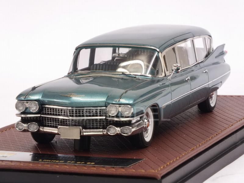 Cadillac Superior Station Wagon 1959 (Turquoise Metallic) by glm-models